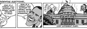 U.S. presidential election by Latuff2