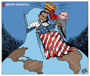 World has now a new emperor by Latuff2
