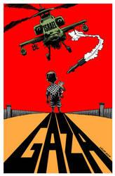 Gaza war crimes 2 by Latuff2