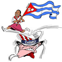 Cuba - 50 Years of Revolution by Latuff2