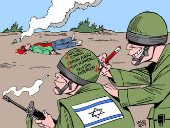 Another victim of Israel by Latuff2