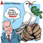 Israel April Fool's Day by Latuff2