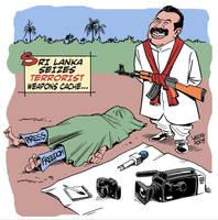 Sri Lanka press freedom by Latuff2