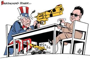 North Korea by Latuff2
