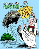 Mother Palestine by Latuff2