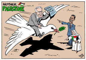 Mother Palestine Israeli peace by Latuff2