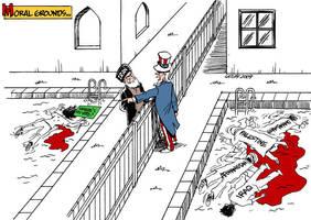 Iran crisis by Latuff2