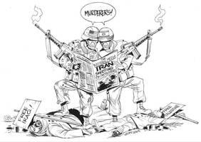 Iran crisis 2 by Latuff2