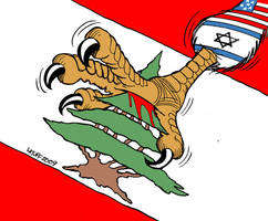 Lebanon Tomb of Imperialism by Latuff2
