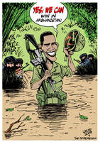 Obama and Vietghanistan by Latuff2