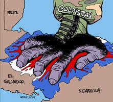 Honduras coup by Latuff2