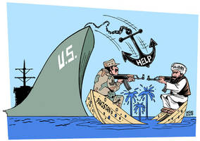 US aid to Pakistan by Latuff2