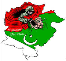 US aid to Pakistan 2 by Latuff2
