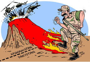 US aid to Pakistan 3 by Latuff2