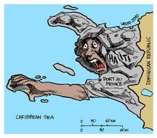 Haiti earthquake by Latuff2