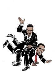 Hard lesson for Obama by Latuff2