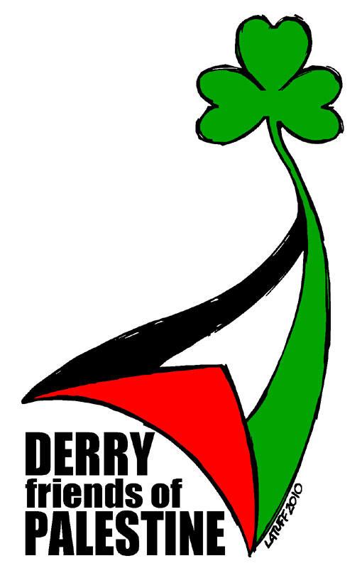Derry Friends of Palestine by Latuff2