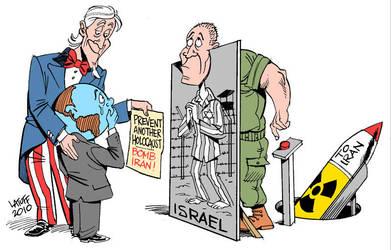 Prevent Holocaust BOMB IRAN by Latuff2
