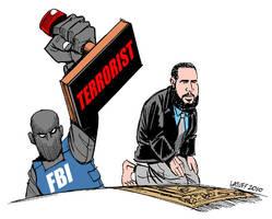 Being Muslim in US by Latuff2