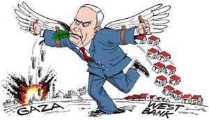Israeli Peace Plan by Latuff2