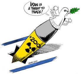 Iran, Israel and 'peace' by Latuff2