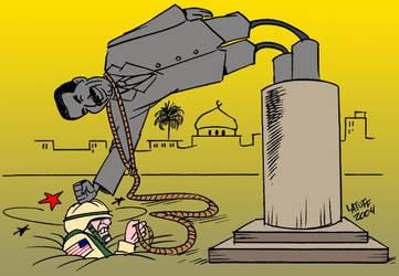 Bush's plans backfire by Latuff2