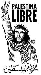 Palestinian Che Guevara by Latuff2