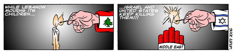 Lebanon by Latuff2