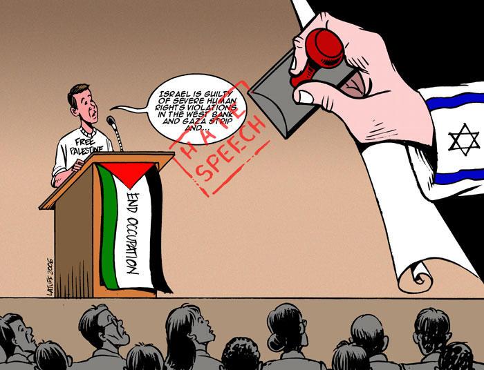 Hate speech by Latuff2