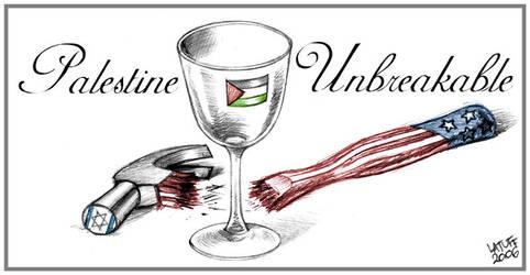 Palestine Unbreakable by Latuff2