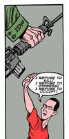 A very dignified Israeli by Latuff2