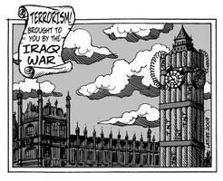 Postcard from London by Latuff2
