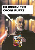 Dooku For Cocoa Puffs by Norn10