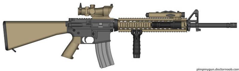M16A4 by firetruckboy