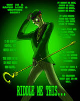 Arkham Files: The Riddler by Atomic-Chinchilla
