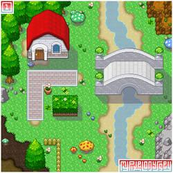 Public tiles: My Pixel Odyssey #1 (Visualization) by WilsonScarloxy