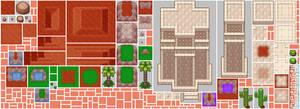TOSTARENA tileset (2/2): My Pixel Odyssey #5 by WilsonScarloxy