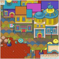TOSTARENA visual (1/2): My Pixel Odyssey #4 by WilsonScarloxy