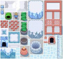 SHIVERIA tileset: My Pixel Odyssey #11 by WilsonScarloxy