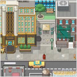 NEW DONK CITY visual: My Pixel Odyssey #10 by WilsonScarloxy