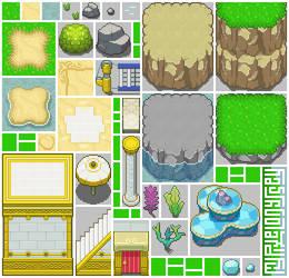 BUBBLAINE tileset: My Pixel Odyssey #12 by WilsonScarloxy