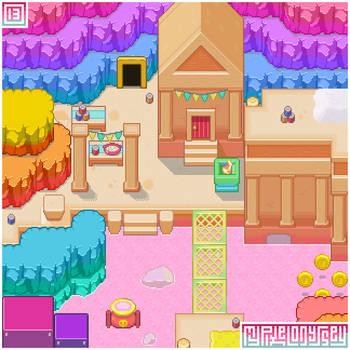 MOUNT VOLBONO visual: My Pixel Odyssey #13 by WilsonScarloxy