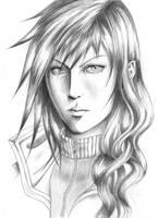 Lightning Dark Portrait by Lord-Stardust
