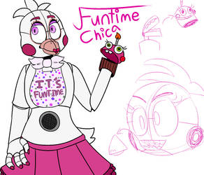 Funtime Chica Funs You by treyepod