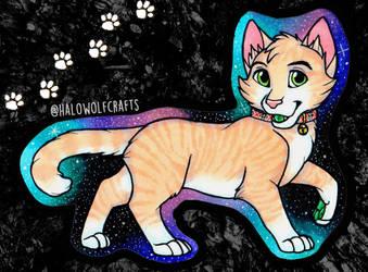 Cheesy the Cat Chibi by illuminatedface