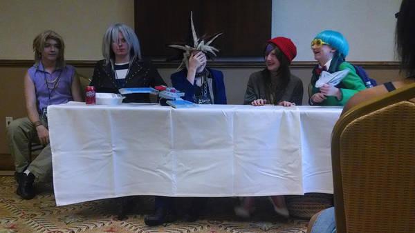 ACA 2014 Yugioh Panel by YamakaiYoko