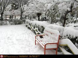 Winter in Tehran - Ekbatan 5 by tiptopland
