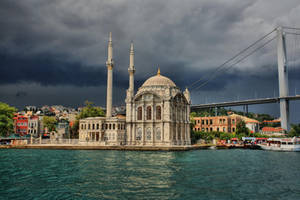 Ortakoy Mosque by tiptopland