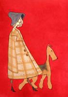 2. airedale lady by dobie