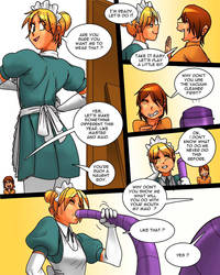 Filthy Donna #26 - Maid Job (Part 3) by maxmam
